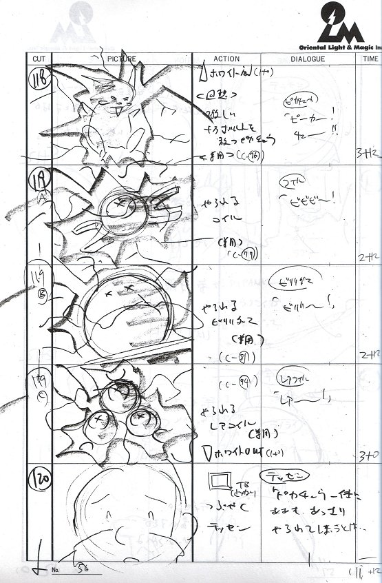 Pokemon Production Art